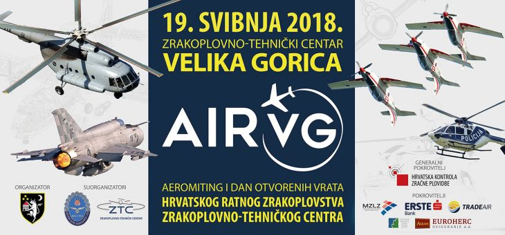 Visit us at AIRVG2018 airshow on May 19th